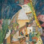 """""""Art,"""" watercolor 1993"""