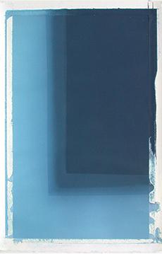 "Diane Szczepaniak, Behind the Night, 2014, Watercolor on Paper , 24.5"" x 38"""