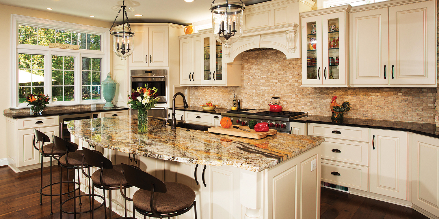 An Expansive Kitchen Makeover In Time For The New Year