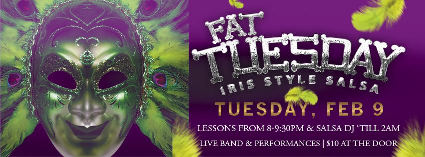 Iris Fat Tuesday Banner
