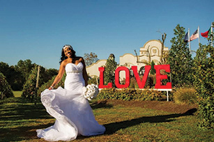 Regina & Tobias Thornwell wedding 1