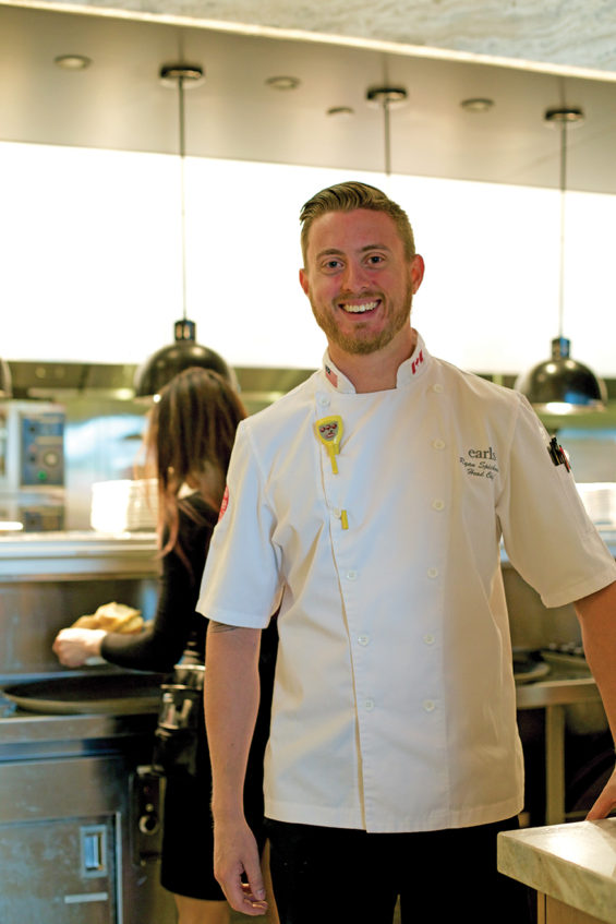 Chef Ryan Spicknell from Earl'scmyk