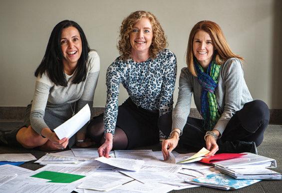 Ellen Grealish, Gwen Rosener and Sheila Murphy, partners, FlexProfessionals, LLC