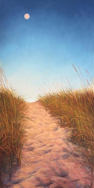 Lori Goll, pastel.