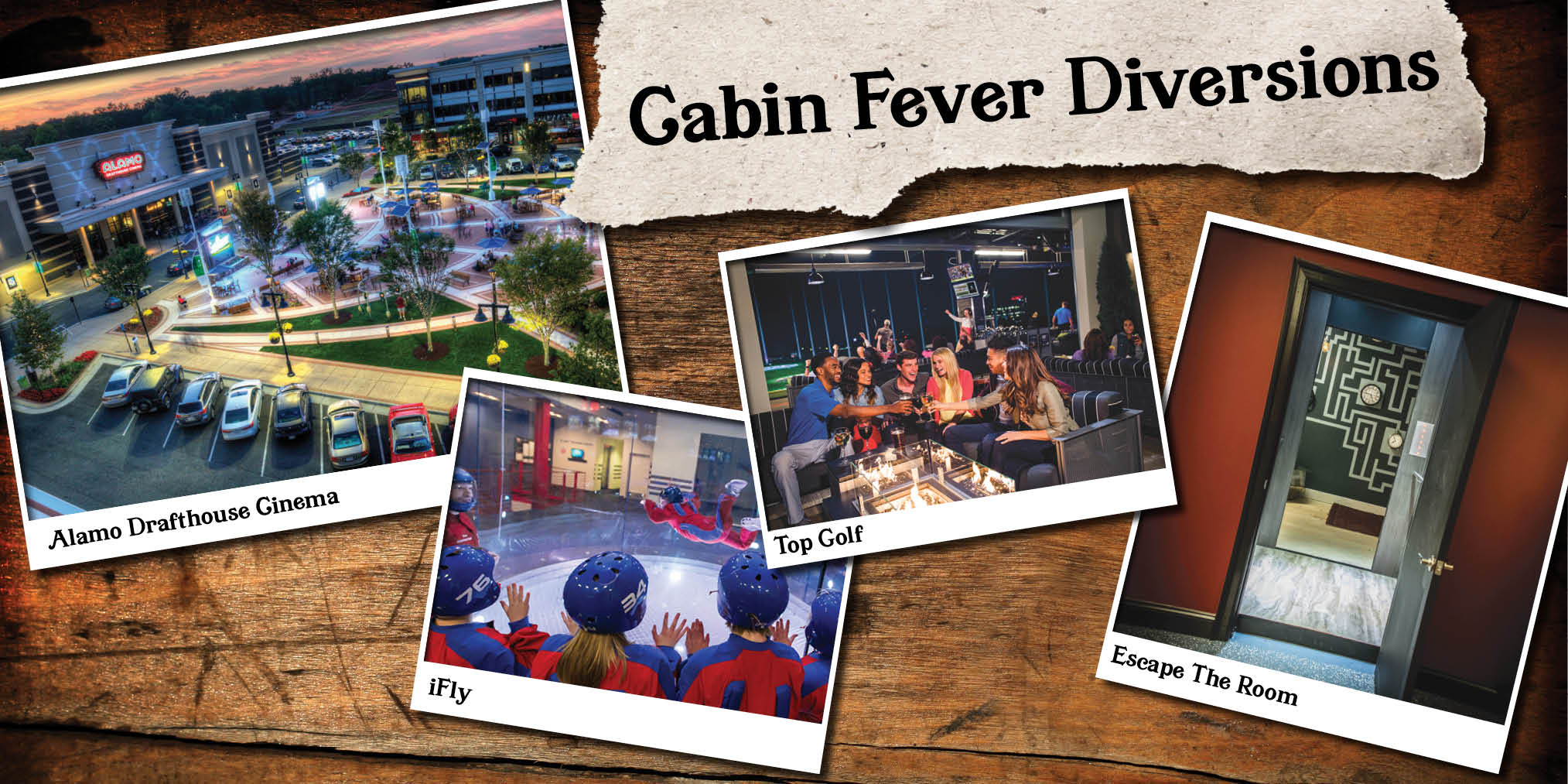 Cabin Fever Diversions