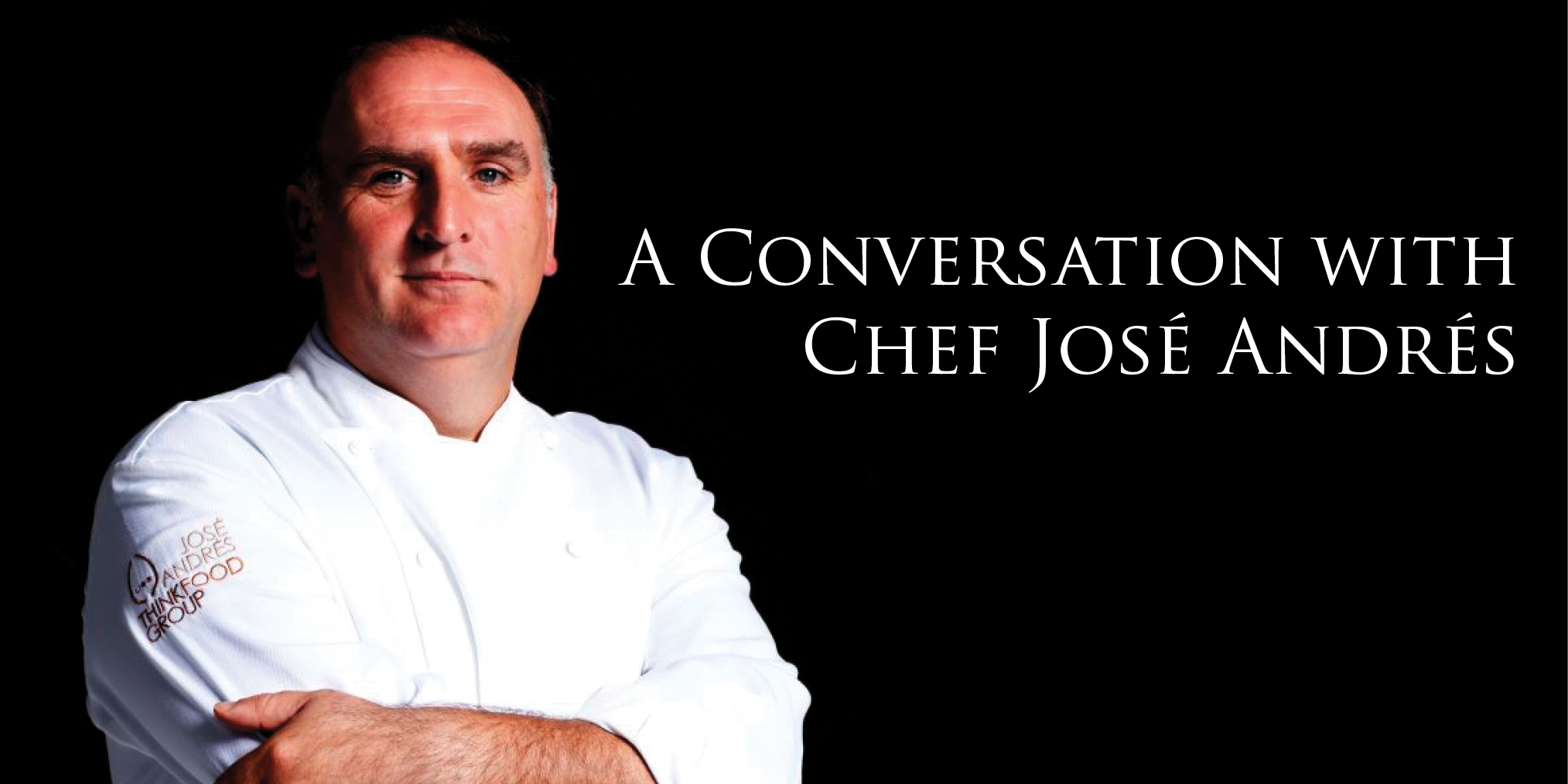 A conversation with chef jos andr s vivatysons for Fish by jose andres menu